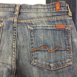 7 For All Mankind Flare Jeans 27